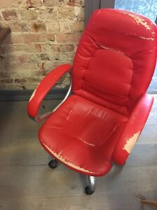 2 FREE red office chairs Woolloomooloo Inner Sydney Preview