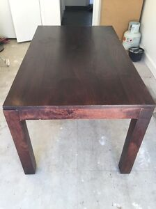 Wooden dining table Waverley Eastern Suburbs Preview