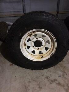 New Tyre & Sunraysia Rim (Nissan Patrol/Pathfinder) Bertram Kwinana Area Preview