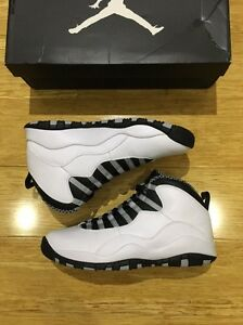 "JORDAN 10 WOLF GREY ""size 9us"" Plumpton Blacktown Area Preview"