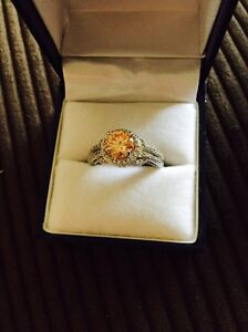 Silver morganite ring Mooroobool Cairns City Preview