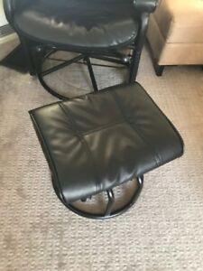 Love and Care black nursing glider chair