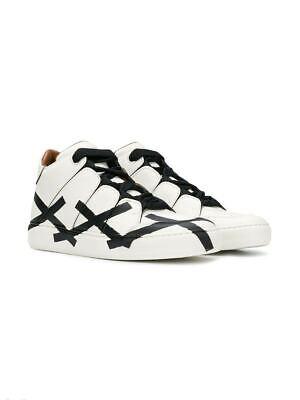 New Ermenegildo Zegna Black White Tiziano XXX Sneakers, Size US 12 (11 EU)