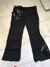 Brand new black Chilli Pepper flare pants size 12 Edgecliff Eastern Suburbs Preview