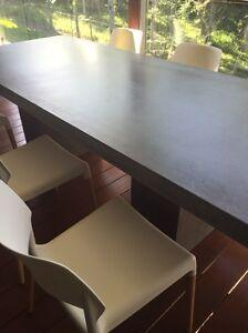 Concrete outdoor furniture (concrete table ) Doonan Noosa Area Preview
