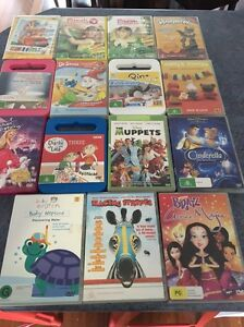 Kids dvd's x 30 Zillmere Brisbane North East Preview