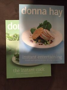 Donna Hay 'instant entertaining' and 'instant cook' Bruce Belconnen Area Preview