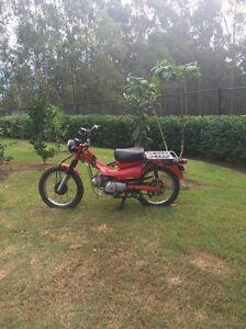 Honda postie bike Worongary Gold Coast City Preview