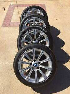"""17"""" BMW M5 Wheels + Great Tyres! (5x120) Carina Heights Brisbane South East Preview"""