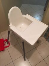 IKEA White Plastic Highchair Wembley Cambridge Area Preview
