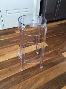 2 x Replica Philippe Starck Charles Ghost bar stool North Beach Stirling Area Preview