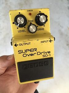Boss guitar pedal Newcastle Newcastle Area Preview