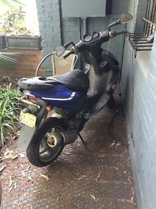Yamaha Aerox100 scooter - needs attention Pyrmont Inner Sydney Preview