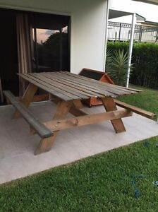 Picnic style outdoor table Annerley Brisbane South West Preview