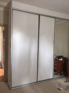 Built in wardrobe doors and track Picnic Point Bankstown Area Preview