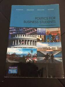 Politics for Business Students isbn 9781442510586 Tweed Heads Tweed Heads Area Preview