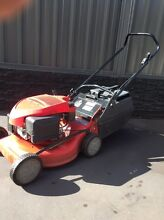 Rover 4 stroke petrol lawnmower lawn mower commercial catcher Surrey Downs Tea Tree Gully Area Preview