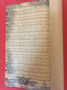 Music note book decoration gift wrapping paper Banyo Brisbane North East Preview