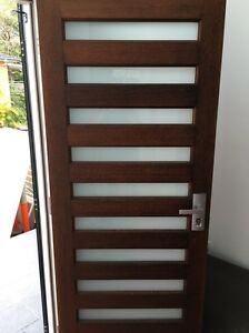 Silky oak door Morningside Brisbane South East Preview