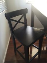 3 IKEA bar chairs Banyo Brisbane North East Preview