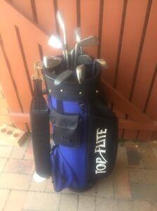 Golf Bag with Clubs Dicky Beach Caloundra Area Preview