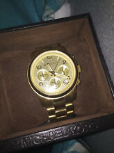 MICHAEL KORS MK5055 LADIES GOLD CHRONOGRAPH WATCH Point Piper Eastern Suburbs Preview