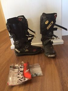 SIDI CROSSFIRE off-road motocross boots Neutral Bay North Sydney Area Preview