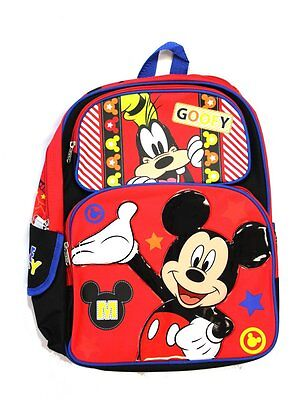 Mickey Mouse   Goofy 16  Backpack   Brand New