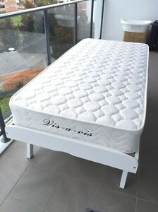 Stylish Single bed with mattress for sale. Wolli Creek Rockdale Area Preview