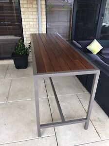 CUSTOM MADE OUTDOOR TABLE, BAR TABLE, BENCH SEAT, COFFEE TABLE Forrestdale Armadale Area Preview