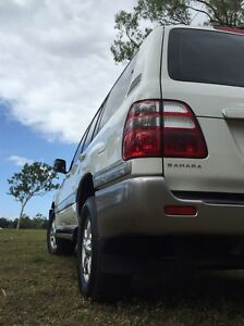 Toyota Landcruiser Sahara 2003 Alice River Townsville Surrounds Preview