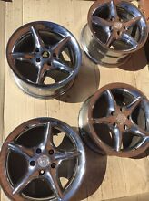 VR gts chrome wheels 17x8 5x120 commodore Liverpool Liverpool Area Preview