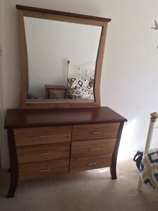 Dressing table with mirror and bedside table Evanston Park Gawler Area Preview
