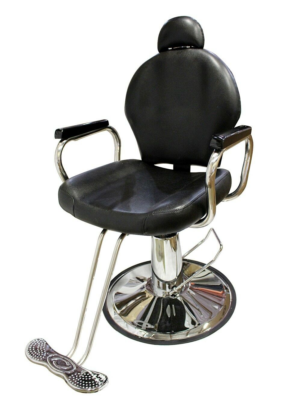 Hydraulic Barber Chair : All purpose reclining hydraulic barber chair salon beauty