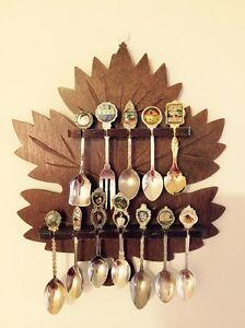 Souvenir Spoon with Wooden Wall Hanger Mosman Mosman Area Preview