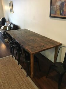 Antique table and chairs Mosman Park Cottesloe Area Preview