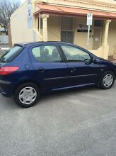 Peugeot 206 2003 blue Adelaide CBD Adelaide City Preview
