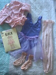 Ballet Uniform with leotard, tights, crossover, skirt Rochedale Brisbane South East Preview