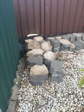 Garden / Retaining Wall Blocks - Charcoal Bidwill Blacktown Area Preview