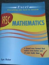 HSC Mathematics Excel Book Wollongong Wollongong Area Preview