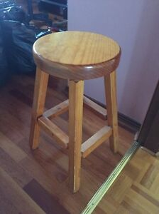Small wooden stool Casula Liverpool Area Preview