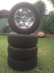 Toyota Prado wheels Yagoona Bankstown Area Preview
