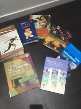 Assorted nursing and health books. Yarraville Maribyrnong Area Preview
