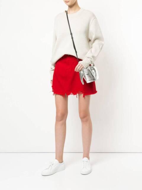 a0e67a3958 NOBODY DENIM RED Denim Piper Skirt RRP $159 | Dresses & Skirts ...