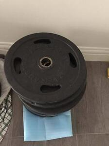 20KG Australian Barbell Co olympic rubber weight plates Prospect Prospect Area Preview