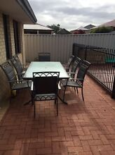 9 seater outdoor setting Quinns Rocks Wanneroo Area Preview