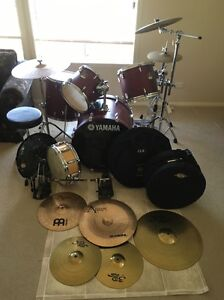 Yamaha stage custom drum kit (gig bags, hardware, cymbals + more) Erskineville Inner Sydney Preview