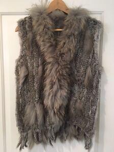 Brand new rabbit fur vest Wembley Downs Stirling Area Preview