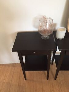 2 x bedside tables Cremorne North Sydney Area Preview