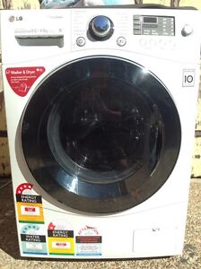 LG 8.5/4.5kg steam washer dryer combo  1400rpm RRP$1899 Beecroft Hornsby Area Preview